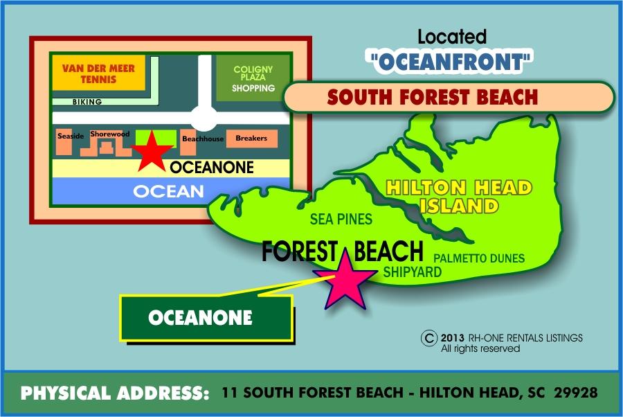OCEAN ONE MAP
